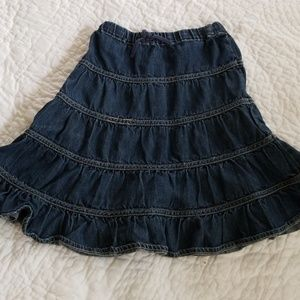 Children's place pleated skirt